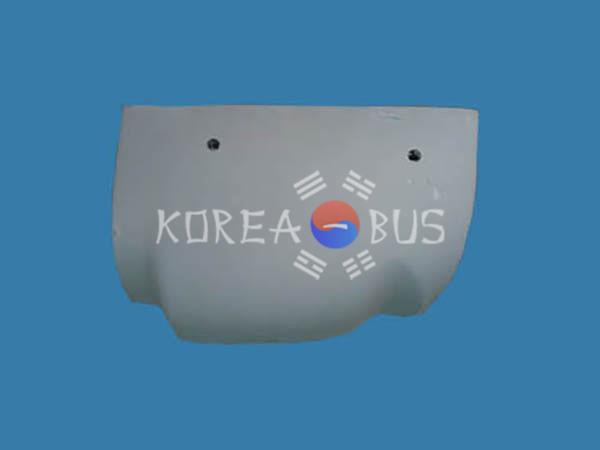 Клык переднего бампера Kia GranBird левый
