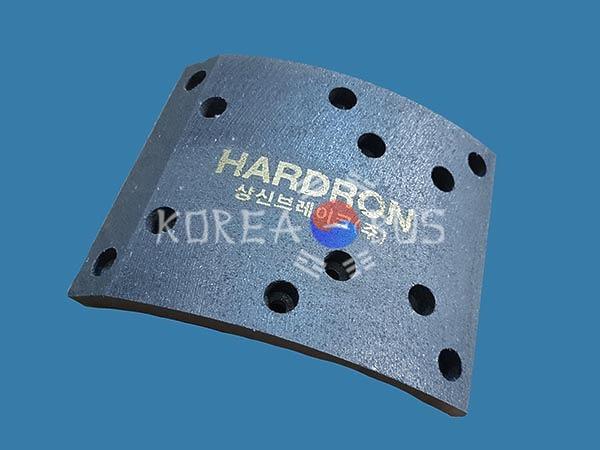 Накладка тормозная передняя Andare 850 Daewoo BS106 BH115 BH120 BH117 BM090 FX120 BX212