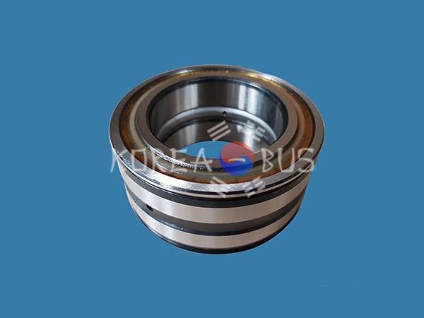 Подшипник поворотного редуктора верхний 60x95x46 двойной двухрядный КМУ Soosan SCS736 736L 4699003
