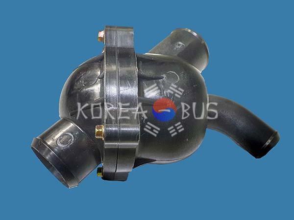 Термостат в сборе 82 градуса Daewoo Ultra BH115 BH120 BH117 BS106 BM090 DE08 D2366 D1146 65.06401-6040