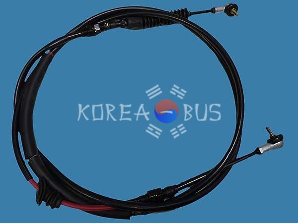 Трос кпп Hyundai HD120 D6DA 43750-6A251
