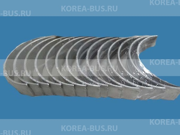 Вкладыши коренные 0,25 Hyundai 6D22 D6AV D6AC D6AB
