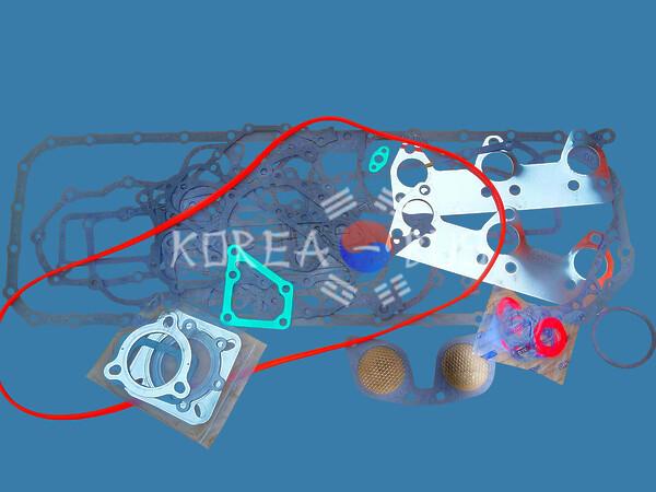 Ремонтный комплект прокладок двигателя D6DA