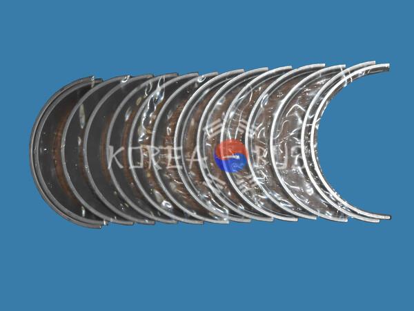 Вкладыши коренные 6D22 D6AV D6AC standart Hyundai Aerocity 540 Aeroexpress Aerospace HD160 HD170 HD250 HD260 HD270 Universe KIA Granbird 21020-83000 2102083020